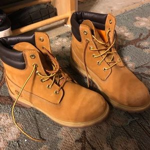 Timberland classic boots double collar